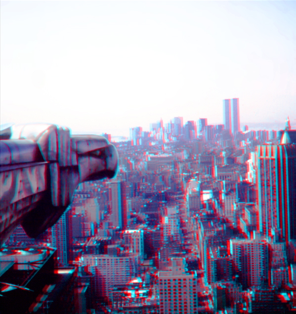 Chrysler Eagle 3-D Anaglyph