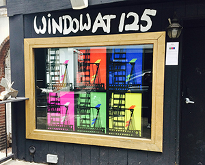 Window at 125 3D Art Installation by Robert Munn and Sara Cook of the Depthography Group